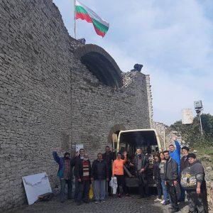 В Ловеч почистваха средновековната крепост