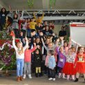 Дядо Коледа и Снежанка гостуваха в ловешката пожарна и зарадваха децата на всички служители