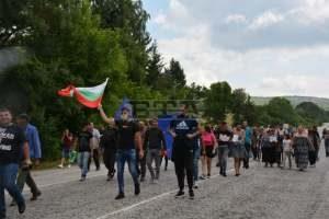 Жителите на ловешкото село Малиново блокираха главния път София – Варна заради проблеми с водоподаването