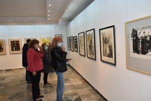 """Изложба на големия Стоян Цанев (1946 – 2019) бе открита днес в ХГ """"Проф. Теофан Сокеров"""" – Ловеч"""