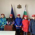 Малките полицаи от ловешките Детски полицейски управления са първите гости в ОД МВР-Ловеч за Новата 2020год