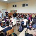 "Международна среща по проект ""STEM + A Around us""в Ловеч"