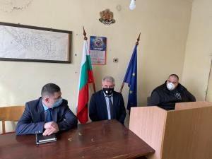 Министърът на вътрешните работи Христо Терзийски е посетил Ябланица и Луковит