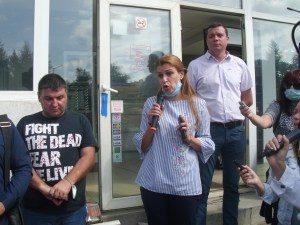 Позицията на Областен управител за водоснабдяването на Малиново
