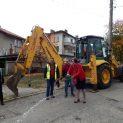 С ремонт на две улици в Троян започна третият мандат на кмета Донка Михайлова