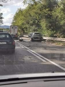 Тежка катастрофа на пътя София-Варна в района на Кирчево. Един загинал и двама ранени