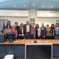 """Ученици и учители от различни държави, гостуващи в Ловеч по програма """"Еразъм +"""", посетиха Община Ловеч"""
