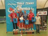 Ловешкият тенис клуб се представи достойно на Държавния шампионат по тенис на маса в Албена