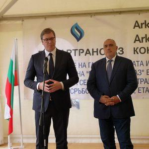 Бойко Борисов и Александър Вучич в Летница