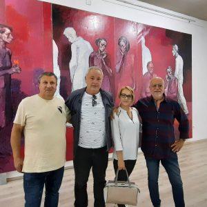 Ловешки художници на изложба на Светлин Русев в Плевен