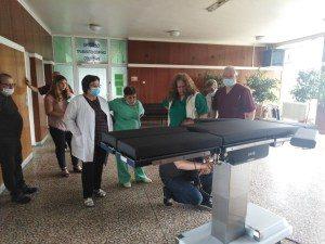 Модерна електрохидравличната операционна маса е поредното дарение на ловешкия бизнес за Болницата