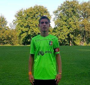 """Централнният нападател на юношеската формация на """"Литекс"""" Мартин Димитров (14 г.) бе извикан да участва в тренировъчен процес на мъжкия отбор"""